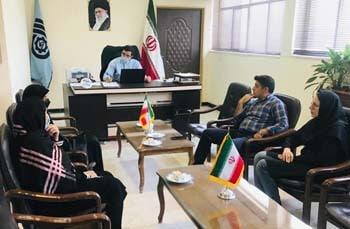 برگزاری جلسه هم اندیشی با فرمانده پایگاه بسیج خواهران حضرت فاطمه (س) شهرستان