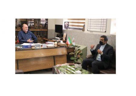 دیدار ملک پور با فرماندار شهرستان برخوار در راستای هفته ملی مهارت