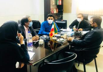 جلسه هماندیشی در خصوص توانمندسازی مهارتی نیروی جوان با رئیس اداره ورزش وجوانان شهرستان