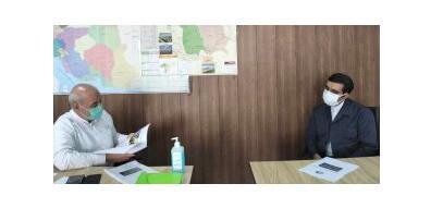 دیدار با عضو هیات رئیسه مجلس ونماینده مردم شریف شاهین شهر، میمه و برخوار